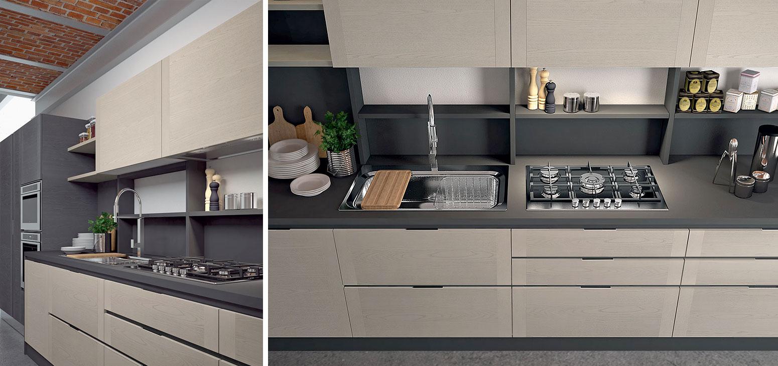 Cucine moderne: Cucina modello Dada