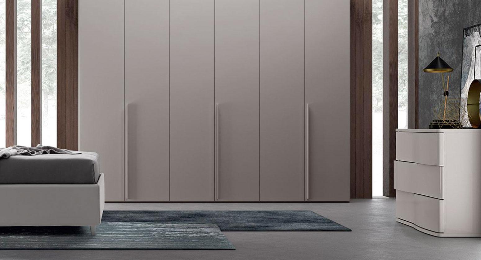 Gioia grigio dorian lux camera colombini - Di gioia mobili ...