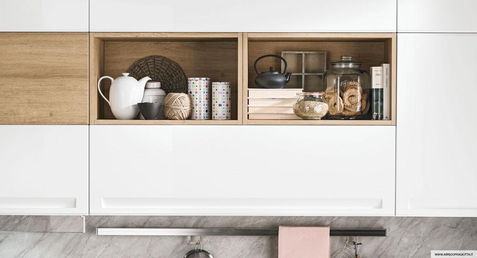 Cucina Isla bianco - Colombini casa