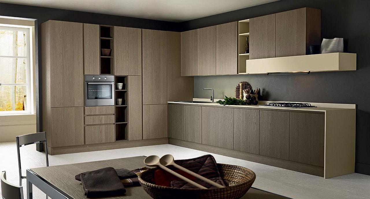 Cucine : Cucina tutto legno