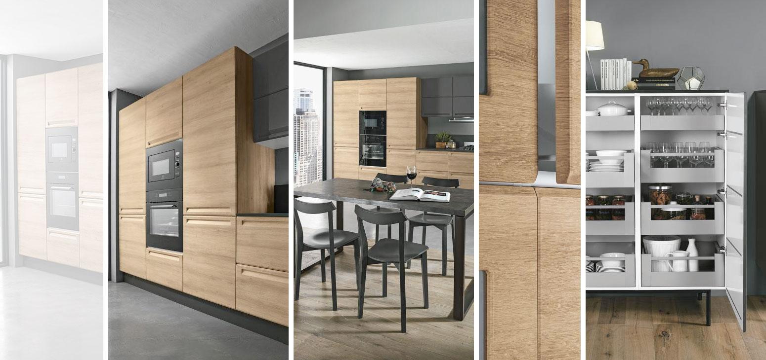 Miele Cucine Componibili.Cucine Moderne Cucina Isla Legno