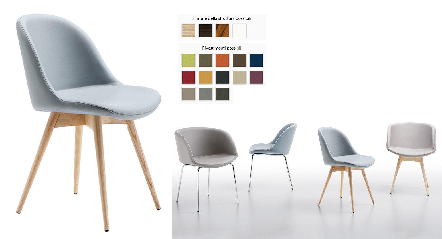 Sedie moderne: Sedia modello Sonny