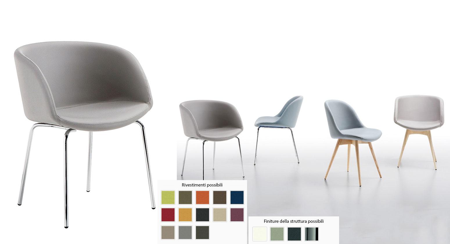 Sedie moderne: Poltroncina Sonny P MT
