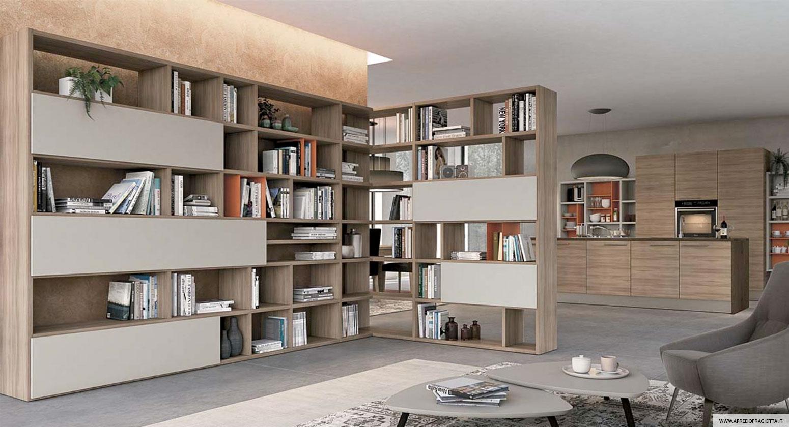 Soggiorno Home collection legno - Colombini casa